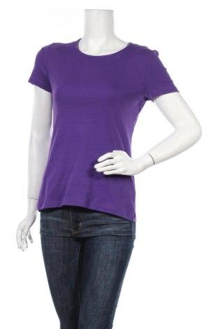Γυναικείο t-shirt Montego, Μέγεθος M, Χρώμα Βιολετί, Βαμβάκι, Τιμή 6,43€