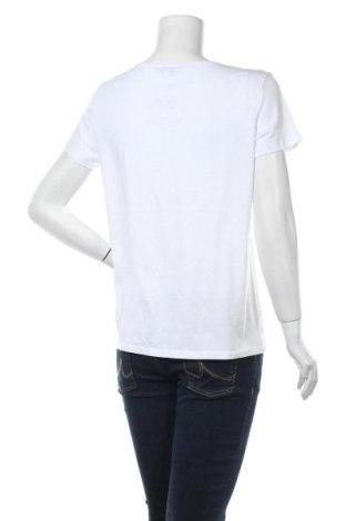 Дамска тениска Montego, Размер L, Цвят Бял, 50% памук, 50% вискоза, Цена 13,00лв.
