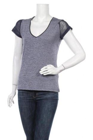 Дамска тениска Morgan De Toi, Размер L, Цвят Син, Полиестер, еластан, Цена 4,46лв.