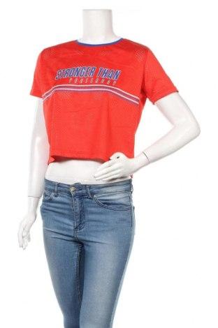 Дамска тениска New Yorker, Размер S, Цвят Червен, Полиестер, Цена 18,90лв.