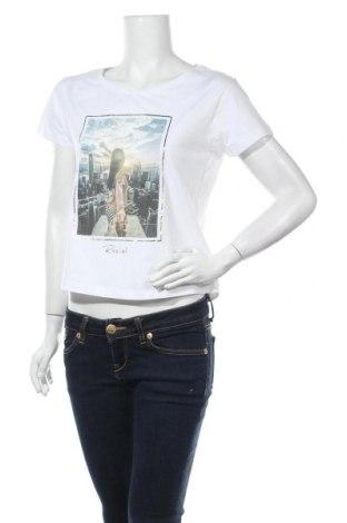Дамска тениска Review, Размер S, Цвят Бял, Цена 11,70лв.