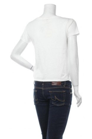 Дамска тениска Review, Размер S, Цвят Бял, 50% памук, 50% модал, Цена 14,62лв.