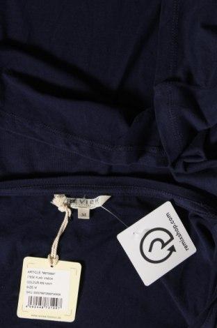 Дамска тениска Review, Размер M, Цвят Син, 50% памук, 50% модал, Цена 16,32лв.
