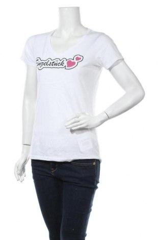 Дамска тениска Russell, Размер M, Цвят Бял, 65% полиестер, 35% памук, Цена 10,08лв.