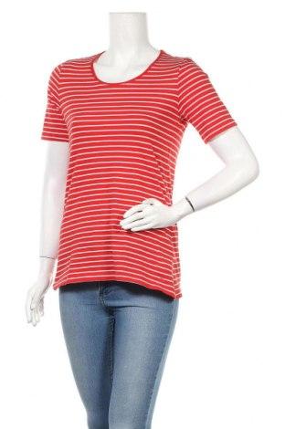 Дамска тениска S.Oliver, Размер L, Цвят Червен, Памук, Цена 17,28лв.