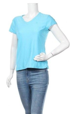 Дамска тениска Wilson, Размер M, Цвят Син, 88% полиестер, 12% еластан, Цена 5,36лв.