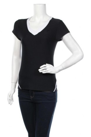 Дамска тениска Wilson, Размер S, Цвят Черен, 88% полиестер, 12% еластан, Цена 7,56лв.
