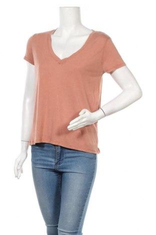 Дамска тениска Zara, Размер S, Цвят Розов, Лиосел, Цена 19,50лв.
