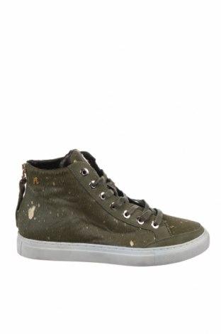 Дамски обувки Replay, Размер 39, Цвят Зелен, Естествен косъм, естествен велур, Цена 100,50лв.