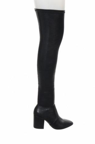 Дамски ботуши Steve Madden, Размер 37, Цвят Черен, Еко кожа, Цена 216,75лв.