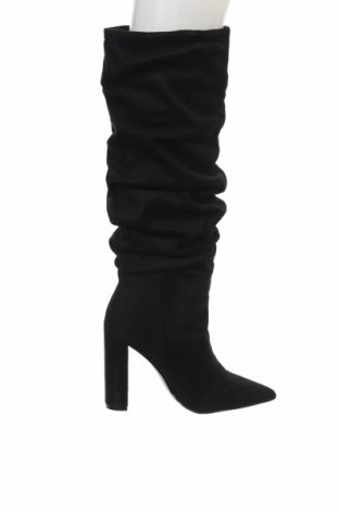 Γυναικείες μπότες Steve Madden, Μέγεθος 36, Χρώμα Μαύρο, Κλωστοϋφαντουργικά προϊόντα, Τιμή 46,24€