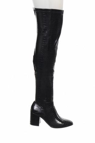 Дамски ботуши Steve Madden, Размер 37, Цвят Черен, Еко кожа, Цена 95,37лв.