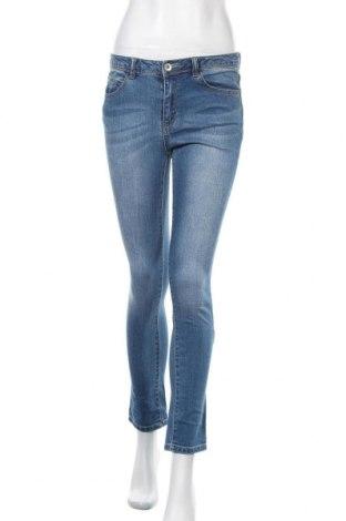 Дамски дънки, Размер S, Цвят Син, 99% памук, 1% еластан, Цена 24,15лв.