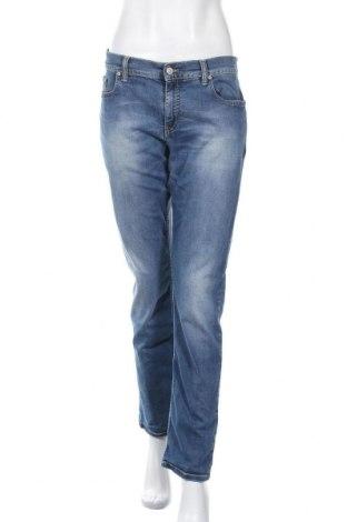 Дамски дънки Alberto, Размер M, Цвят Син, 99% памук, 1% еластан, Цена 22,55лв.