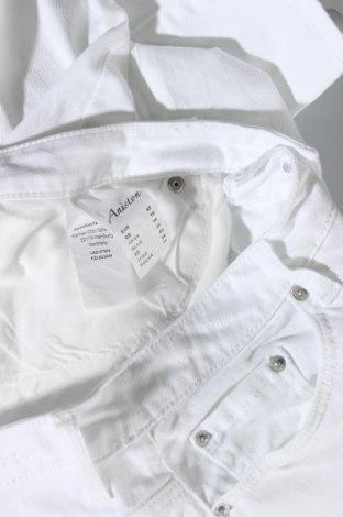 Дамски дънки Aniston, Размер L, Цвят Бял, 98% памук, 2% еластан, Цена 26,66лв.