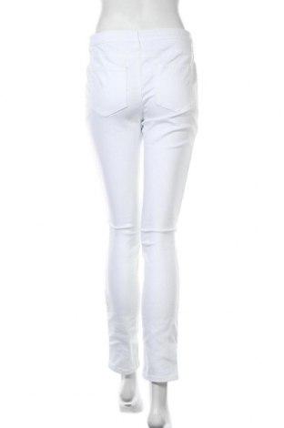 Дамски дънки Aniston, Размер M, Цвят Бял, 98% памук, 2% еластан, Цена 31,62лв.