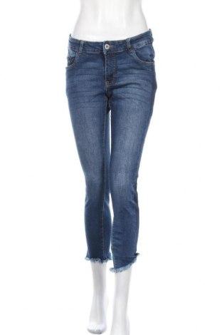 Γυναικείο Τζίν Blue Motion, Μέγεθος M, Χρώμα Μπλέ, 98% βαμβάκι, 2% ελαστάνη, Τιμή 15,07€