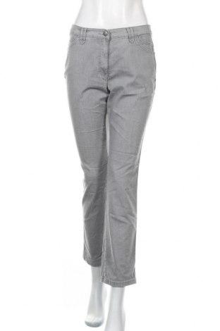 Дамски дънки Brax, Размер M, Цвят Сив, 76% памук, 24% други нишки, Цена 22,68лв.