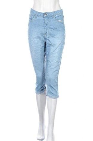 Дамски дънки Collection L, Размер M, Цвят Син, 81% памук, 18% полиестер, 1% еластан, Цена 16,38лв.
