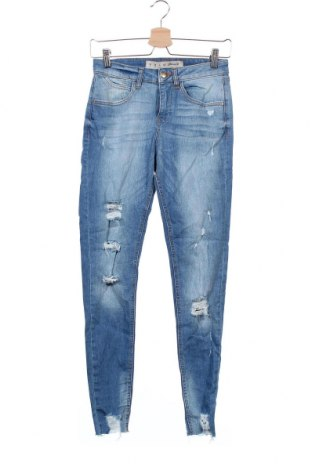Дамски дънки Denim Co, Размер S, Цвят Син, 98% памук, 2% еластан, Цена 27,30лв.