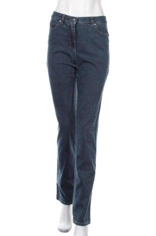 Дамски дънки Gerry Weber, Размер S, Цвят Син, 80% памук, 18% полиестер, 2% еластан, Цена 82,95лв.