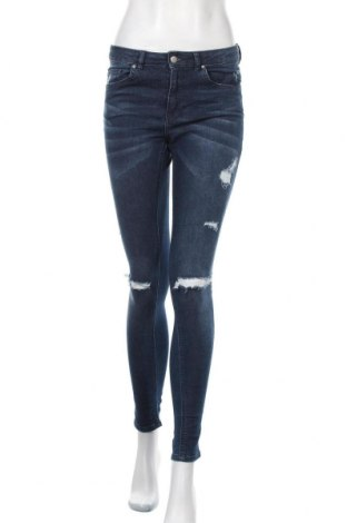 Дамски дънки H&M, Размер S, Цвят Син, Цена 22,94лв.