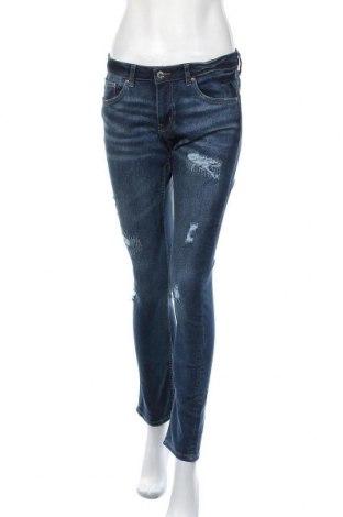 Дамски дънки H&M, Размер M, Цвят Син, Цена 18,43лв.