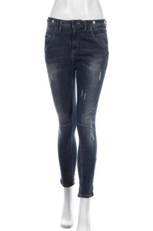 Dámské džíny  Ichi, Velikost M, Barva Modrá, 98% bavlna, 2% elastan, Cena  379,00Kč