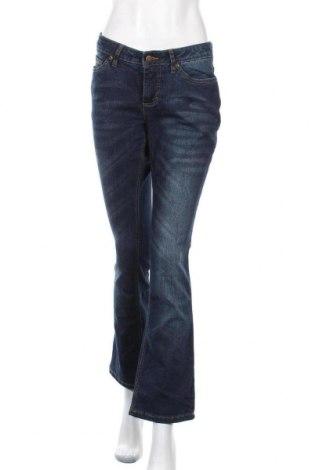 Γυναικείο Τζίν John Baner, Μέγεθος M, Χρώμα Μπλέ, 82% βαμβάκι, 17% πολυεστέρας, 1% ελαστάνη, Τιμή 6,37€