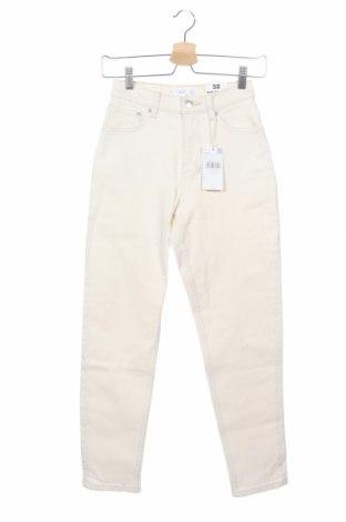 Дамски дънки Mango, Размер XXS, Цвят Екрю, 99% памук, 1% еластан, Цена 46,92лв.