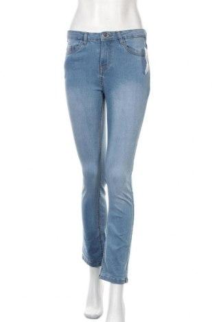Дамски дънки Studio, Размер S, Цвят Син, 98% памук, 2% еластан, Цена 17,94лв.