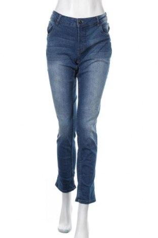 Γυναικείο Τζίν Up 2 Fashion, Μέγεθος L, Χρώμα Μπλέ, 85% βαμβάκι, 13% πολυεστέρας, 2% ελαστάνη, Τιμή 13,25€