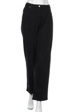 Дамски дънки Victoria Hill, Размер XXL, Цвят Черен, 96% памук, 4% еластан, Цена 27,30лв.