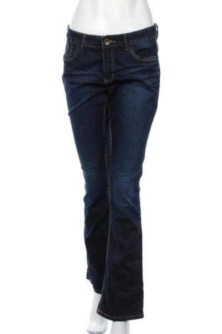 Дамски дънки Yessica, Размер M, Цвят Син, 77% памук, 21% полиестер, 2% еластан, Цена 15,02лв.
