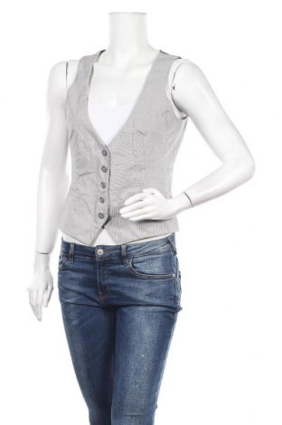 Дамски елек Esprit, Размер M, Цвят Бял, 83% памук, 14% полиестер, 3% еластан, Цена 5,67лв.