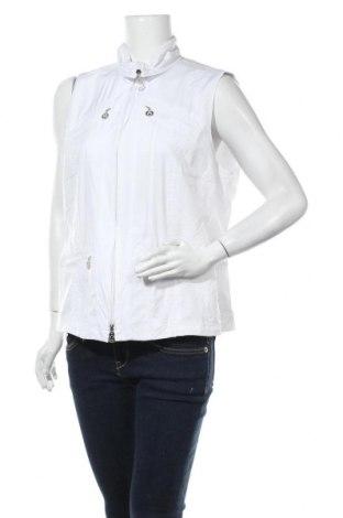 Дамски елек Gerry Weber, Размер L, Цвят Бял, Полиестер, Цена 39,90лв.