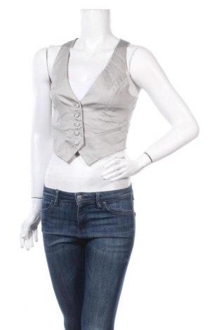 Дамски елек H&M, Размер S, Цвят Бежов, 60% памук, 38% полиестер, 2% еластан, Цена 5,04лв.