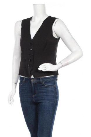 Дамски елек Orsay, Размер L, Цвят Черен, 66% полиестер, 32% вискоза, 2% еластан, Цена 6,30лв.