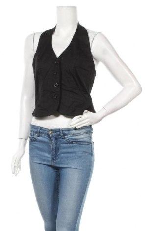 Дамски елек Orsay, Размер L, Цвят Черен, 97% памук, 3% еластан, Цена 4,46лв.