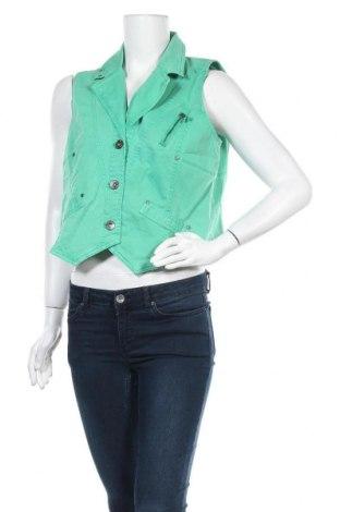 Дамски елек Top Secret, Размер XL, Цвят Зелен, 97% памук, 3% еластан, Цена 46,41лв.