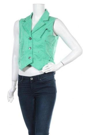 Дамски елек Top Secret, Размер M, Цвят Зелен, 97% памук, 3% еластан, Цена 8,93лв.