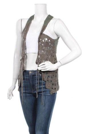 Γυναικείο γιλέκο Top Secret, Μέγεθος XL, Χρώμα Πράσινο, 55% βαμβάκι, 45%ακρυλικό, Τιμή 4,32€