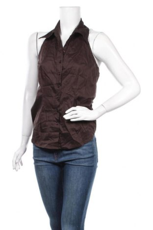 Дамски елек Vero Moda, Размер XL, Цвят Кафяв, 75% памук, 22% полиамид, 3% еластан, Цена 4,20лв.