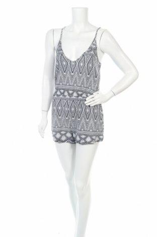 Дамски гащеризон H&M, Размер S, Цвят Бял, Вискоза, Цена 13,65лв.
