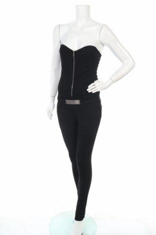 Дамски гащеризон Tout Feu Tout Femme, Размер S, Цвят Черен, 95% полиестер, 5% еластан, Цена 9,19лв.