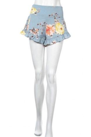 Γυναικείο κοντό παντελόνι, Μέγεθος S, Χρώμα Μπλέ, Πολυεστέρας, Τιμή 9,38€