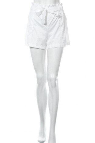 Γυναικείο κοντό παντελόνι, Μέγεθος L, Χρώμα Λευκό, 35% βαμβάκι, 65% πολυεστέρας, Τιμή 4,09€
