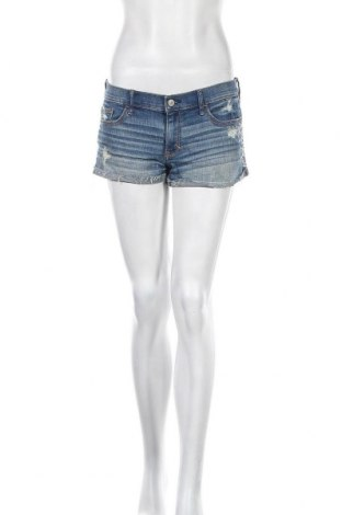 Γυναικείο κοντό παντελόνι Abercrombie & Fitch, Μέγεθος S, Χρώμα Μπλέ, 83% βαμβάκι, 16% πολυεστέρας, 1% ελαστάνη, Τιμή 17,73€