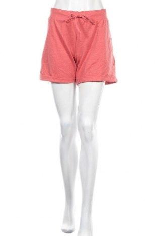 Дамски къс панталон Active By Tchibo, Размер M, Цвят Червен, 63% полиестер, 32% памук, 5% еластан, Цена 5,15лв.