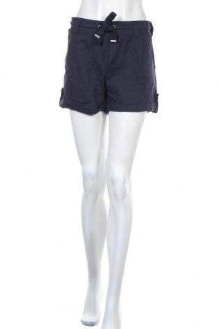 Дамски къс панталон Be You, Размер XL, Цвят Син, Памук, Цена 12,95лв.